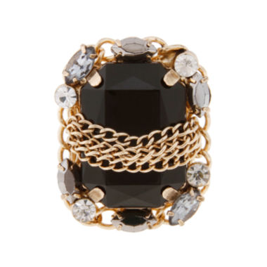 jcpenney.com | Mixit™ Gold Stretch with Stone Ring