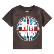 Novelty Short-Sleeve The Who Rock Tee - Toddler Boys 2t-5t