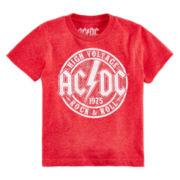 Novelty Short-Sleeve AC/DC Rock Tee - Toddler Boys 2t-5t