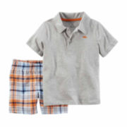 Carter's® 2-pc. Captain Polo and Shorts Set - Toddler Boys 2t-5t