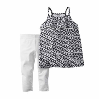 jcpenney.com | Carter's® 2-pc. Geo-Print Tank Top and Leggings Set - Toddler Girls 2t-5t