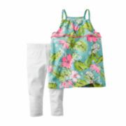 Carter's® 2-pc. Tropical Top and Leggings Set - Toddler Girls 2t-5t