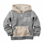 Carter's® Grey Waikiki Hoodie - Toddler Boys 2t-5t
