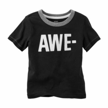 jcpenney.com | Carter's® Short-Sleeve Awesome Tee - Preschool Boys 4-7