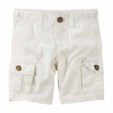 jcpenney.com | Carter's® Button-Front Cargo Shorts - Boys 4-7