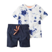 Carter's® 2-pc. Top and Shorts Set - Baby Boys newborn-24m