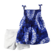 Carter's® 2-pc. Tie-Dye Tank Top and Shorts Set - Baby Girls newborn-24m