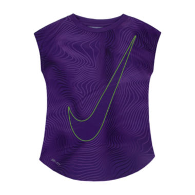 jcpenney.com | Nike® Short-Sleeve Dri-FIT Tee - Preschool Girls 4-6x