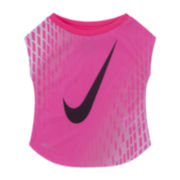Nike® Short-Sleeve Dri-FIT Tee - Preschool Girls 4-6x