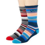 Vans® 2-pk. Harkness Crew Socks