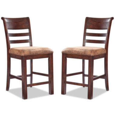 jcpenney.com | Bear River Set of 2 Bar Stools