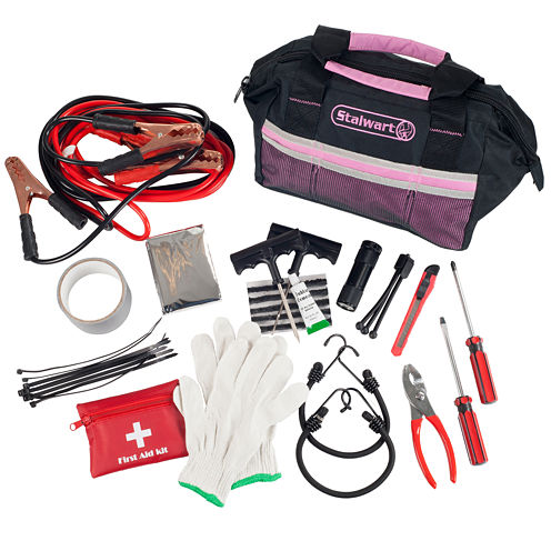 Stalwart™ 55-pc. Emergency Roadside Kit with Travel Bag