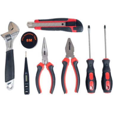jcpenney.com | Stalwart 9-pc. Home, Car and Office Tool Kit