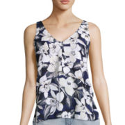 BELLE + SKY™ Sleeveless Barback Top