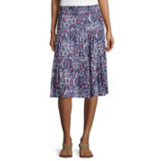 St. John's Bay® Knit Skirt - Tall