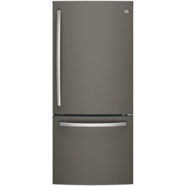 jcpenney.com | GE® Series ENERGY STAR® 20.9 Cu. Ft. Bottom Freezer Refrigerator with Ice Maker