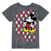 Disney Collection Mickey Mouse Cotton Graphic Tee - Boys