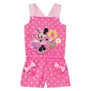 Disney Collection Minnie Mouse Romper - Girls 2-8
