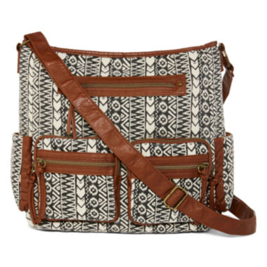 jcpenney.com | Arizona Front Double Pocket Crossbody Bag