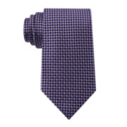 Stafford® Tray Nonsolid Silk Tie - Extra Long