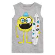 Okie Dokie® Graphic Muscle Tee - Toddler Boys 2t-5t