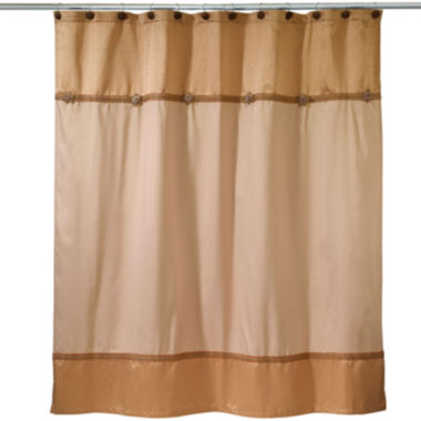jcpenney.com | Avanti® Braided Medallion Shower Curtain