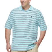 Izod® Short-Sleeve Pique Polo - Big & Tall