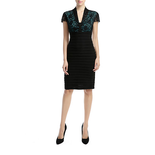 Phistic Vanessa Short Sleeve Sheath Dress
