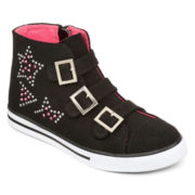 Total Girl® Helen High-Top Girls Sneakers - Little Kids/Big Kids