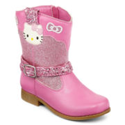 Hello Kitty® Lil Nicole  Girls Boots - Toddler
