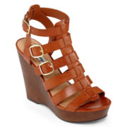 Olsenboye® Trist Gladiator Wedge Sandals