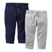 Carter's® 2-pk. Pants - Boys newborn-24m