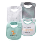 Carter's® Fox 4-pk. Teething Bibs