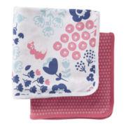 Carter's® 2-pk. Floral Swaddle Blankets