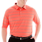 PGA TOUR® Heather Striped Polo–Big & Tall