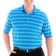 PGA TOUR® 3–Color Striped Polo–Big & Tall