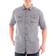 i jeans by Buffalo Menzie Short-Sleeve Woven Shirt-Big & Tall