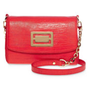 Liz Claiborne® Hallmark French-Flap Shoulder Bag