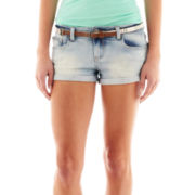 Vanilla Star® Belted Roll-Cuff Shorts