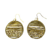 Mixit™ Gold-Tone Wire & Bead Earrings