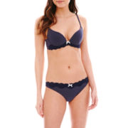 Marie Meli Domini Deep Plunge Bra or Thong Panties
