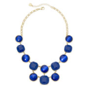 Monet® Blue Stone Statement Necklace