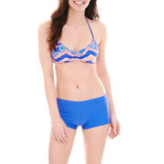Arizona Chevron Print Bralette Swim Top or Short Bottoms - Juniors