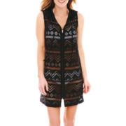 Wereabouts Zip-Front Dress Cover-Up