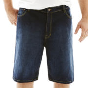 IZOD® Comfort-Fit Jean Shorts-Big & Tall