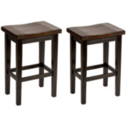 Brewer Set of 2 Counter-Height Barstools