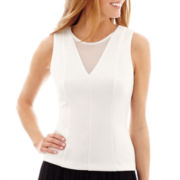 nicole by Nicole Miller® Sleeveless V-Neck Top