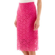 nicole by Nicole Miller® Lace Pencil Skirt