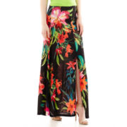 Bisou Bisou® Slit-Front Maxi Skirt