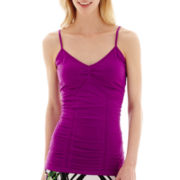 Bisou Bisou® Shirred Seamless Cami